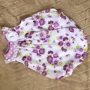 Flower dress 👗💜🌸